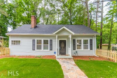 Atlanta Single Family Home New: 992 Westmont Road SW