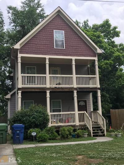 Atlanta Single Family Home New: 344 SW Betsy Ave