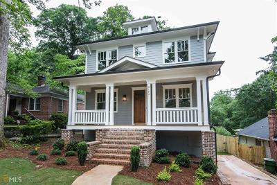 Atlanta Single Family Home New: 2140 Delano Dr