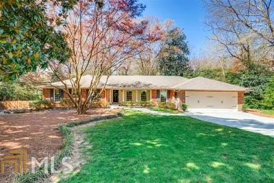 Fulton County Single Family Home New: 4780 Chatworth Ct