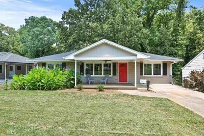 Atlanta Single Family Home New: 1623 Terry Mill Rd