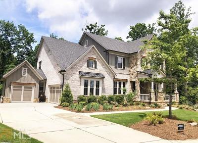 Johns Creek Single Family Home New: 11095 Callaway Drive