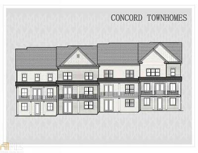 Alpharetta Condo/Townhouse For Sale: 390 Banbury Xing