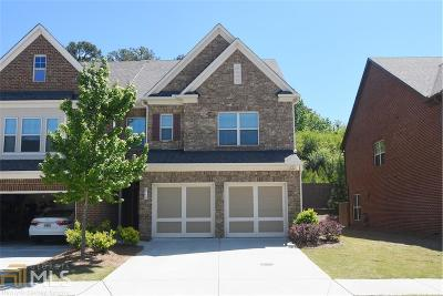 Suwanee Condo/Townhouse For Sale: 4110 Madison Bridge Dr