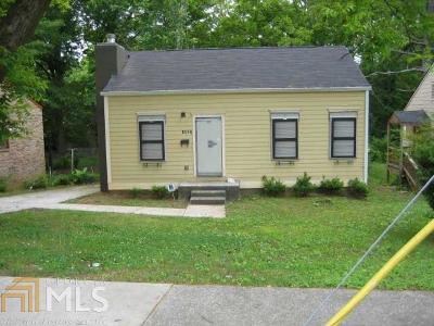 Atlanta Single Family Home New: 1027 Lawton