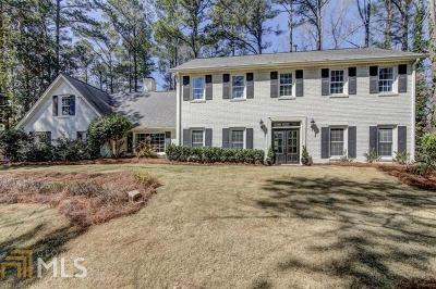Atlanta Single Family Home New: 6400 Blackwater Trl