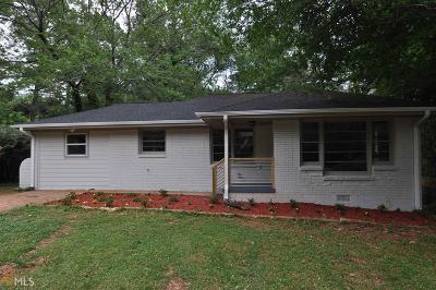 Decatur Single Family Home New: 3417 Lark Lane