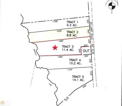 Statesboro Residential Lots & Land New: Williams Rd #Lot 3