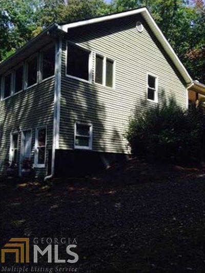Dahlonega Single Family Home For Sale: 105 Thurmond Walker Rd