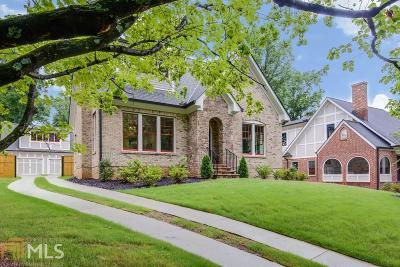 Atlanta Single Family Home New: 467 Burlington Rd