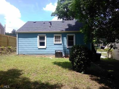 Atlanta Single Family Home New: 2688 Oldknow Dr