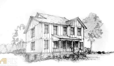 Atlanta Single Family Home New: 3311 W West Roxboro Rd