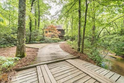 Dawsonville Single Family Home For Sale: 2635 Amicalola Church Rd