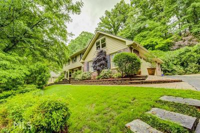 Atlanta Single Family Home New: 2491 Greenglade Road NE