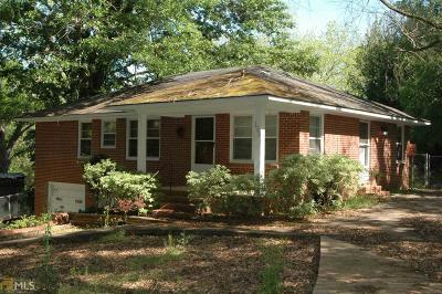 Haddock, Milledgeville, Sparta Single Family Home New: 117 Wright St