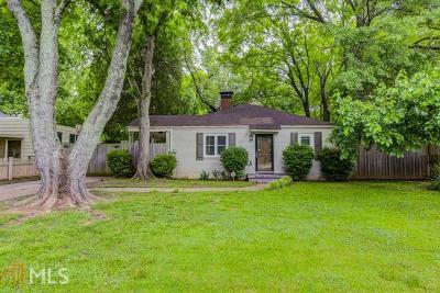 Atlanta Single Family Home New: 1842 Flat Shoals Rd
