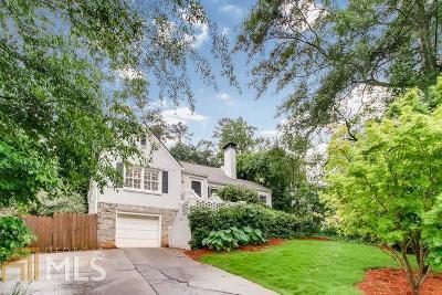 Atlanta Single Family Home New: 1686 Pine Ridge Dr