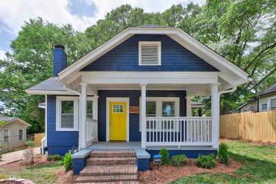 Fulton County Single Family Home For Sale: 1447 Park Ave