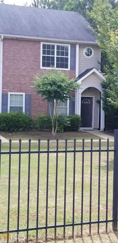 Clayton County Condo/Townhouse For Sale: 8672 Thomas Rd