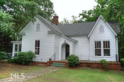 Barnesville Single Family Home For Sale: 149 Holmes St