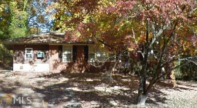 Cobb County Single Family Home Under Contract: 74 Hillcrest Dr