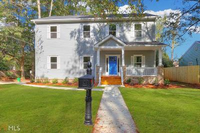 Avondale Estates Single Family Home Under Contract: 3136 Rockbridge Rd Rd