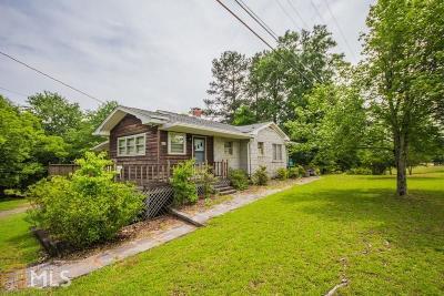Elberton GA Single Family Home For Sale: $140,000
