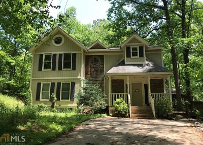 Dawsonville Single Family Home For Sale: 74 Lake Valley Ct