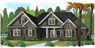 Statham Single Family Home Under Contract: 3728 Highland Park Way #Lot 15