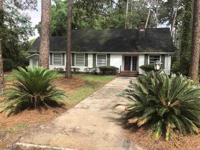 Statesboro Single Family Home For Sale: 210 Vista