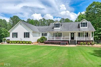 Butts County, Jasper County, Newton County Single Family Home For Sale: 319 Parker Rd