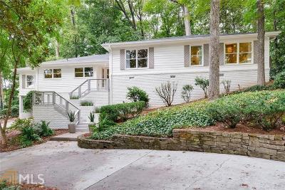 Fulton County Single Family Home For Sale: 3912 Sheldon