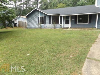 Clayton County Single Family Home For Sale: 9019 Dorsey Rd