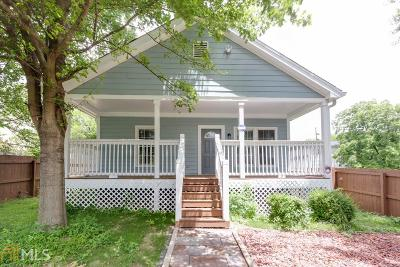 Fulton County Single Family Home For Sale: 827 Fraser St