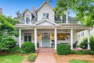 Historic Marietta Single Family Home For Sale: 340 Church St
