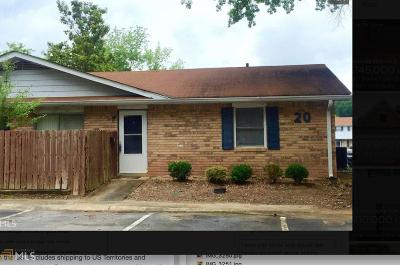 Fulton County Condo/Townhouse For Sale: 4701 Flat Shoals Rd #20b