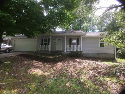 Conyers Single Family Home Under Contract: 307 Cindy Dr