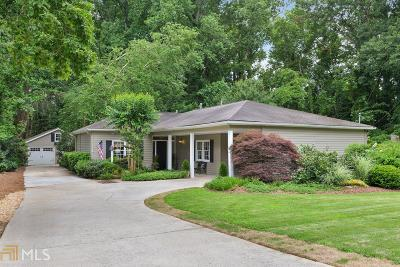 Historic Marietta Single Family Home Under Contract: 397 Maple Ave