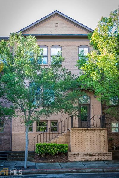 Suwanee Condo/Townhouse For Sale: 395 Suwanee