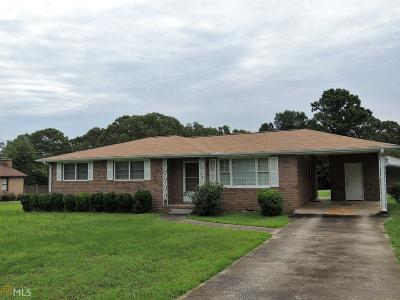 Elberton GA Single Family Home Under Contract: $95,000