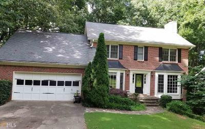 Roswell Rental For Rent: 8541 Birch Hollow Dr