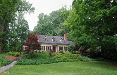 Decatur Single Family Home For Sale: 908 W Ponce De Leon