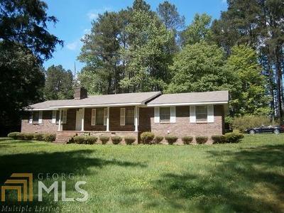 Fairburn Single Family Home Under Contract: 8375 Cedar Grove Rd
