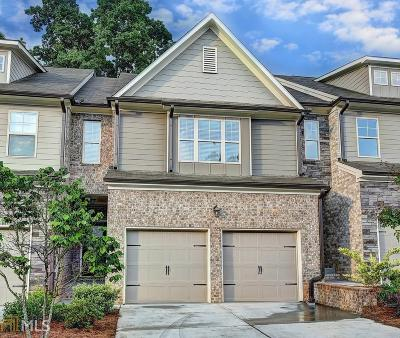 Suwanee Condo/Townhouse For Sale: 5550 Bright Cross Way