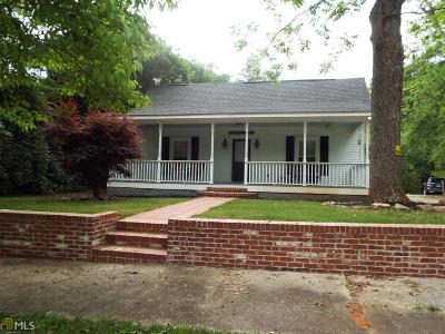 Monticello Single Family Home For Sale: 838 Eatonton St