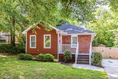 Reynoldstown Single Family Home For Sale: 1127 Hawthorne St