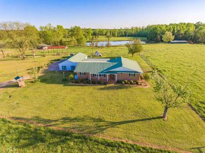 Elbert County, Franklin County, Hart County Single Family Home For Sale: 1896 Nancy Hart School Rd
