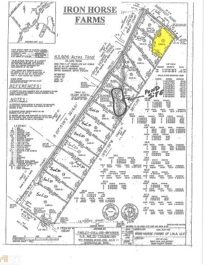Lula  Residential Lots & Land For Sale: 1 Barefoot Rd