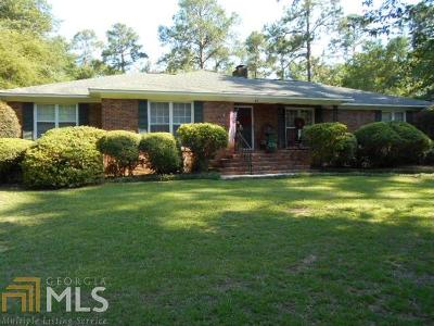 Statesboro Single Family Home For Sale: 42 Golf Club Cir