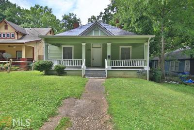 Fulton County Single Family Home For Sale: 1375 Everhart St